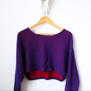American Apparel Crop Knit Sweater